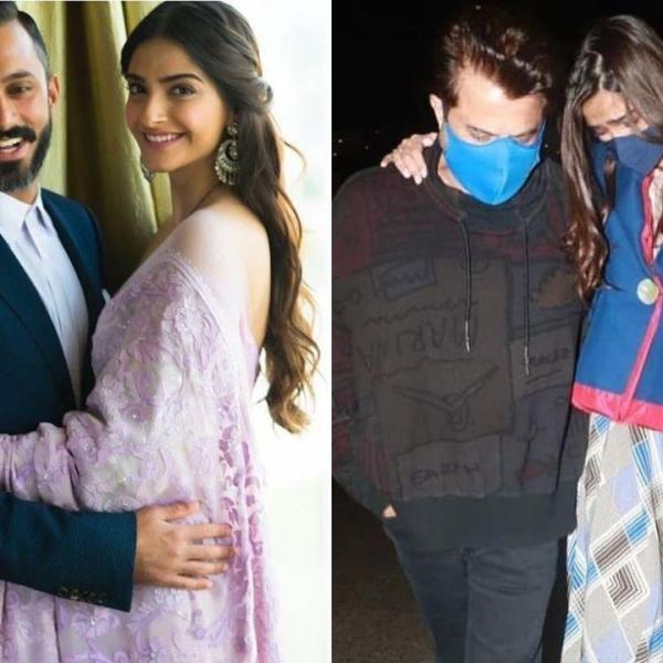 Pregnant Sonam Kapoor Breaks Down In Tears After Meeting Dad Anil At Mumbai Airport