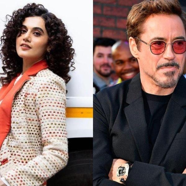 Taapsee Pannu Reveals Sending DM To Robert Downey Jr