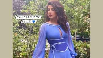 Priyanka Chopra Jonas Slays It In Stunning Blue Corset Dress