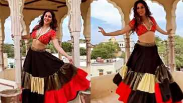 Shraddha Arya Flaunst Her Cute Smile As She Grooves To SRK song Zaalima; Watch Video