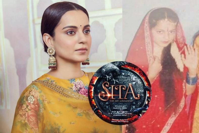 Kangana Ranaut As Goddess Sita in The Upcoming Period Drama, 'Sita-The Incarnation'