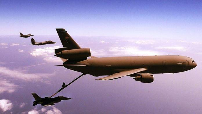 McDonnell Douglas KC-10 Extender is the biggest military plane