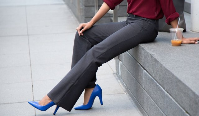 5166c1553edc4 Dress Yoga Pants are Taking Over The Modern Office! See Why Here!