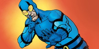 Blue Beetle on CW