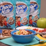 Mini cereal para panqueques con Choco Milk®