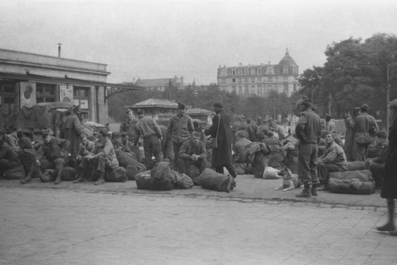 WWII Soldier's Rescued Photo Film 11