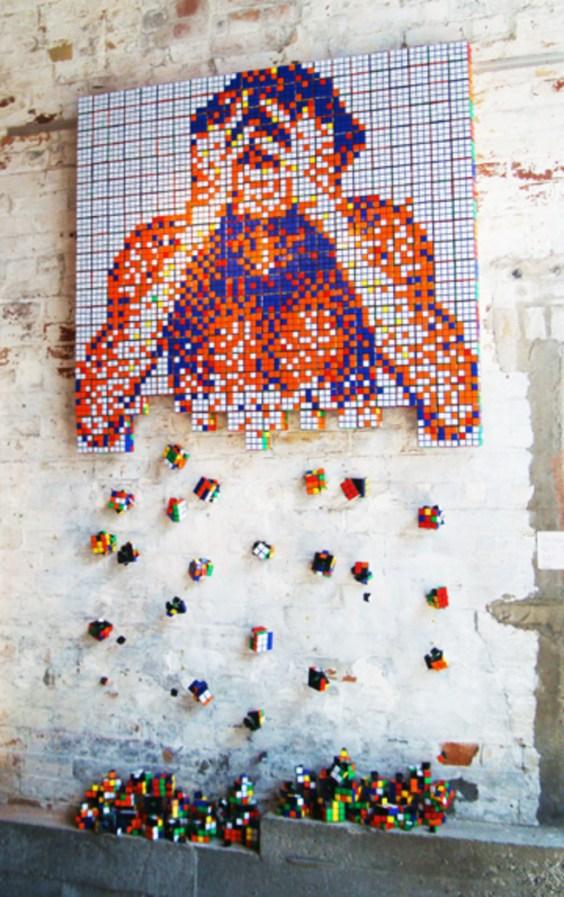 Rubik's Cube Art-1