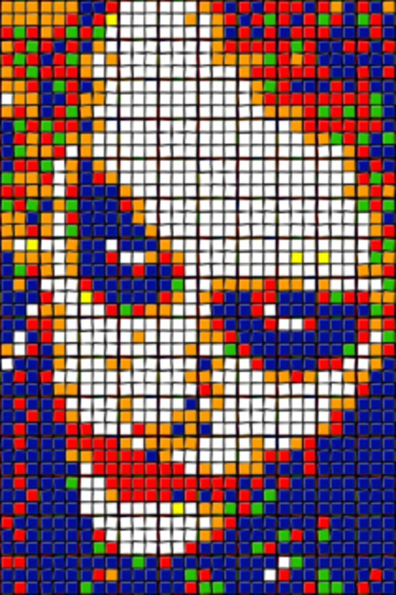 Rubik's Cube Art-19