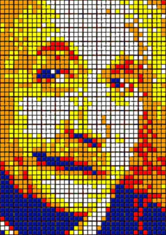 Rubik's Cube Art-4