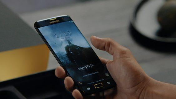 Batman-Inspired Samsung Galaxy S7 Edge