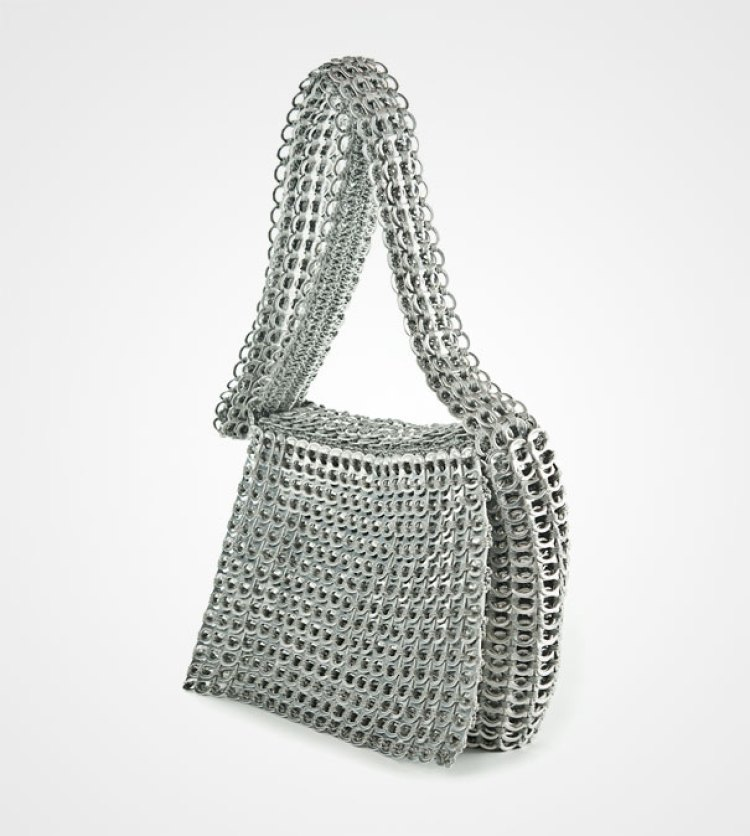 4. Pop Tabs Turned Into Bag