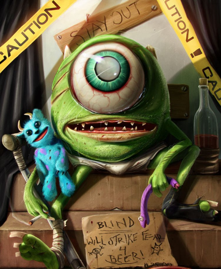 8-mike-wazowski-from-monsters-inc