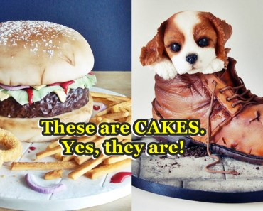 unexpected cake designs