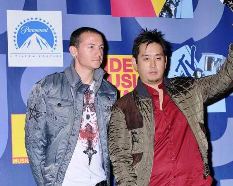 Chester Bennington and Joseph Han