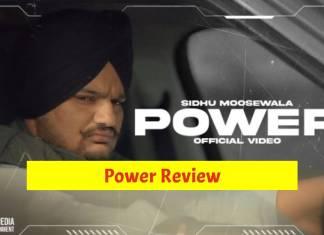 Power Review Sidhu Moose Wala