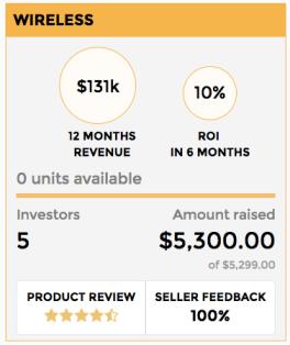 upfund dashboard amazon inventory