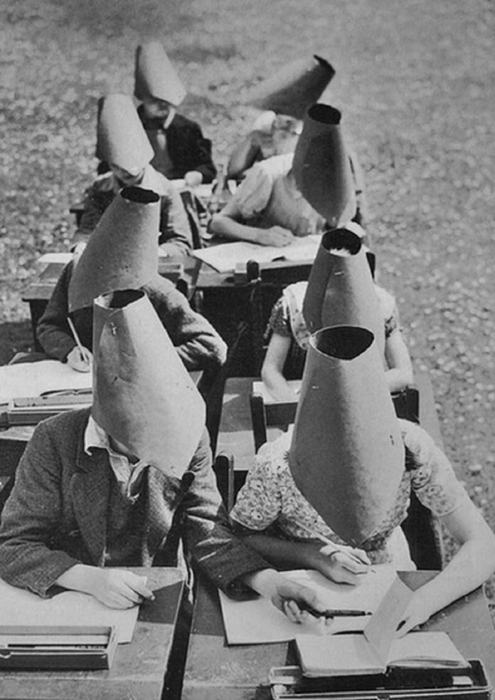 #8 Vintage anti-cheating hats