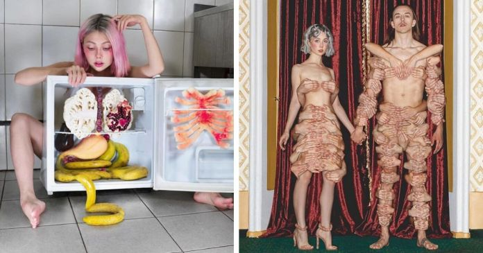 Russian Artist Ellen Sheidlin Take Bizarre And Thought-Provoking Photos