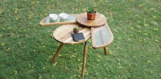 Beetle Coffee table made by Radhika Dhumal Elytra