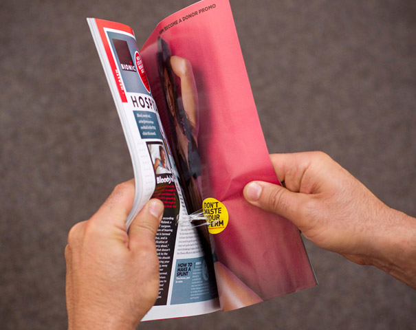 Creative Double Page Magazine Ads