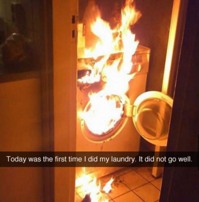 People Did Their Laundry With Disastrous Or Funny Results laundry Fails