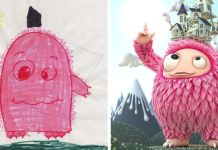 What Happens When Professional Artists Recreate Kids' Monster Doodles In Their Own Unique Style The Monster Project