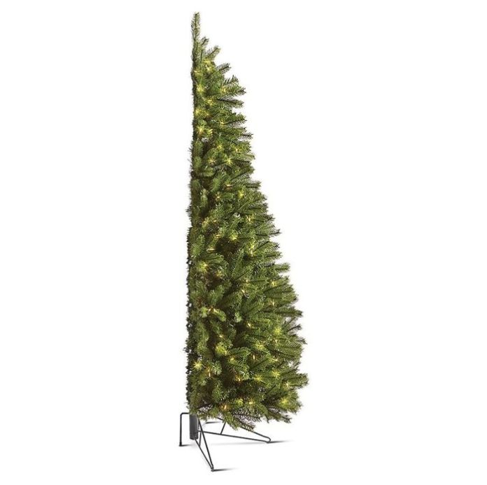 You Can Now Buy A 'Half Christmas Tree' If You Hate Decorating The Back And Want To Save Space
