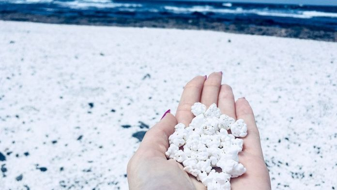 Popcorn Beach Canary Island