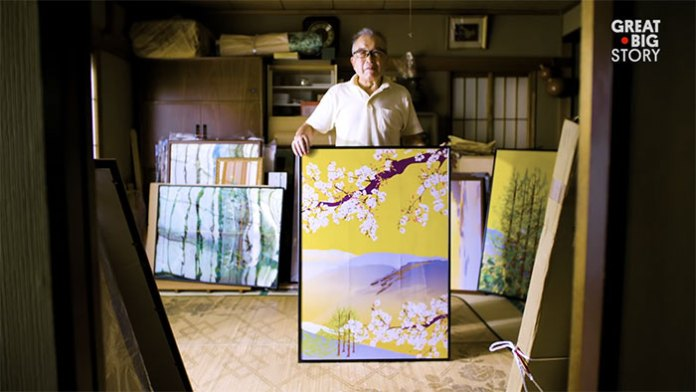 80-Year-Old Man Masters Excel To Create Amazing Paintings