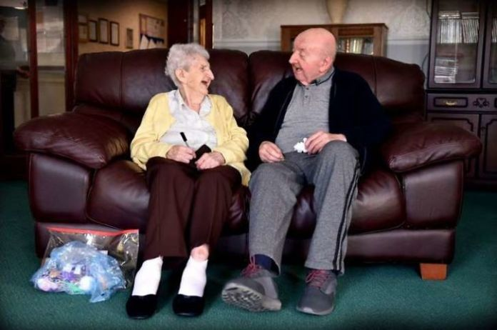 "Mom, 98, Moves Into Care Home To Look After Her 80-Year-Old Son Because ""You Never Stop Being A Mum."""