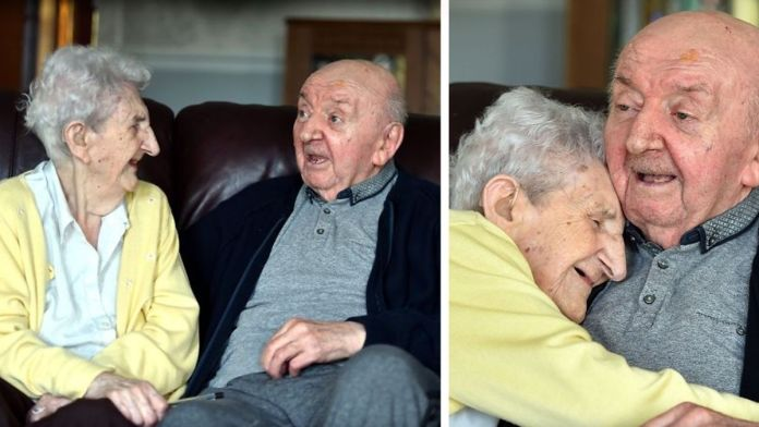 Mom, 98, Moves Into Care Home To Look After Her 80-Year-Old Son Because