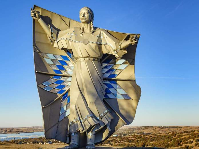 Statue Called 'Dignity' Is The New Addition To Crazy Horse and Mount Rushmore in South Dakota