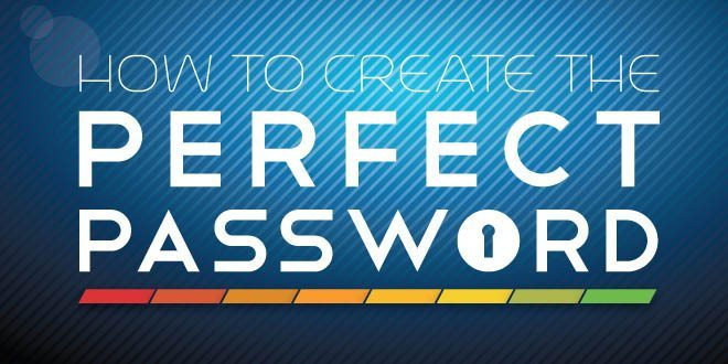 Create a Ultra Strong Password and Protect yourself Online (Infographic)