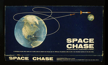 Fig 12. Box for the board game Space Chase, 1967. Courtesy of The Strong, Rochester, New York, USA.