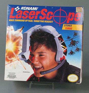 Fig 14. Packaging for Nintendo Laserscope, 1990. Courtesy of The Strong, Rochester, New York, USA.