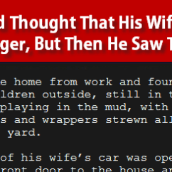 Rug Under Kitchen Table Gel Mat Husband Thought That His Wife Was In Danger, But Then He ...