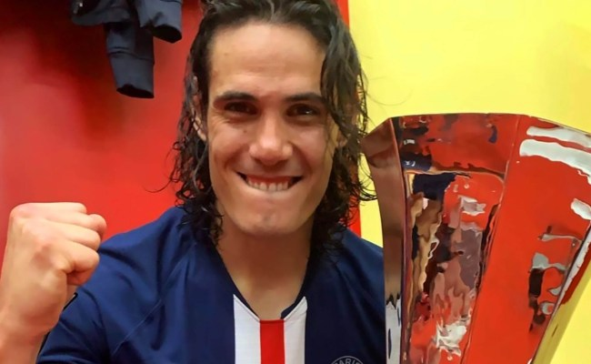 United Target Cavani Set To Stay At Psg Until Summer