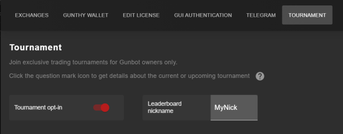 On-Going Gunbot Tournaments March 2021 1