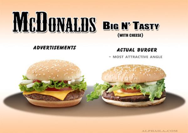 McDonalds Big 'N Tasty