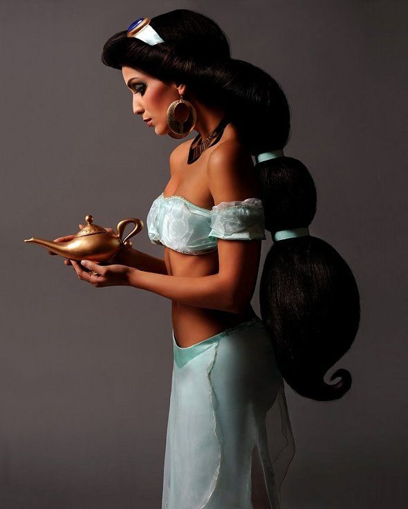 Princes Jasmine, Disney princessen in het echt