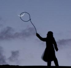 Atrapa luna soga