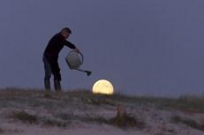 riega luna crece