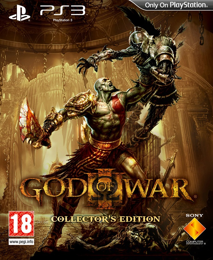 god of war collector