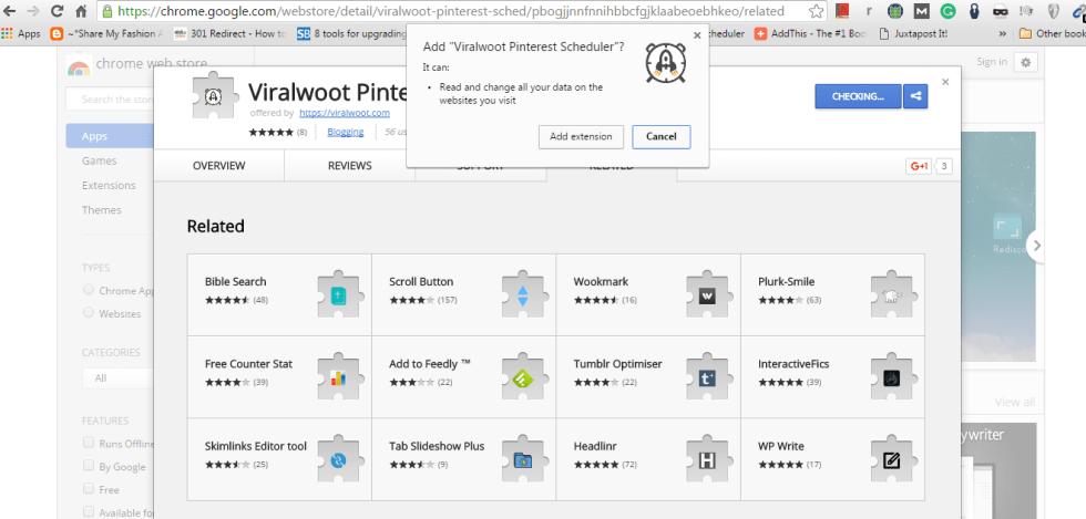 ViralWoot Pinterest Scheduler Extension