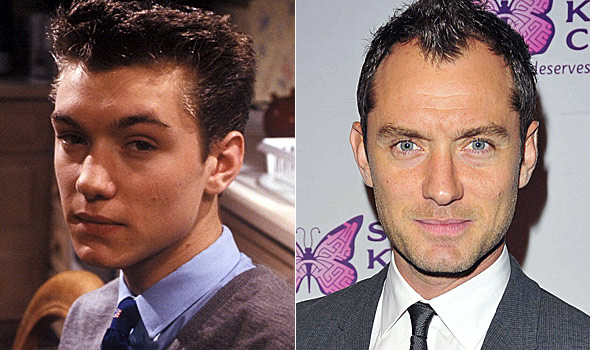 Image result for jude law then and now