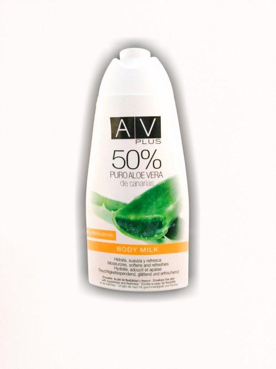 Body Milk AV PLUS 50% Aloe Vera 400ml