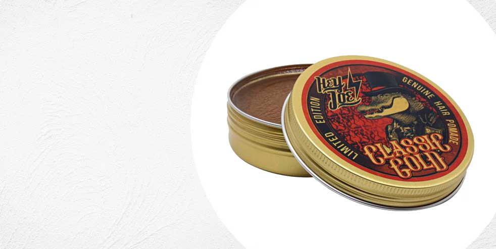 HEY JOE! GENUINE HAIR POMADE CLASSIC GOLD