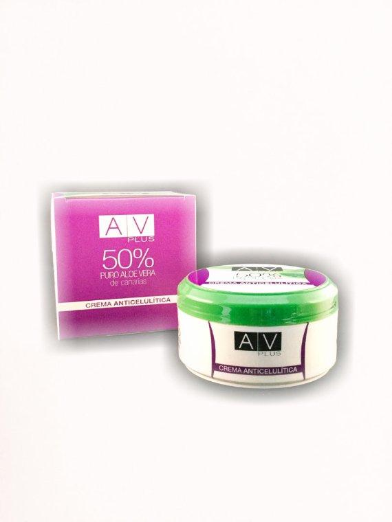 Crema Anticelulítica AV PLUS 50% Aloe Vera 200ml
