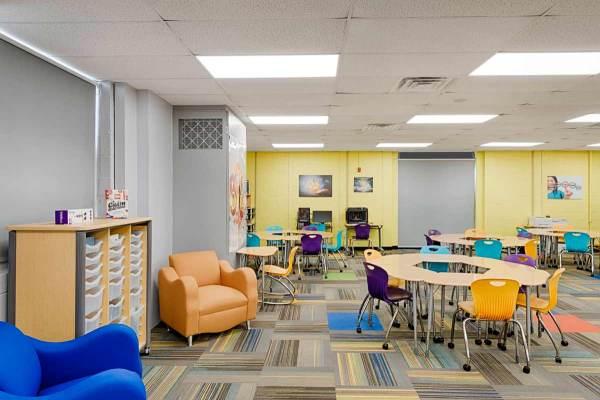 Stem Middle School Classroom