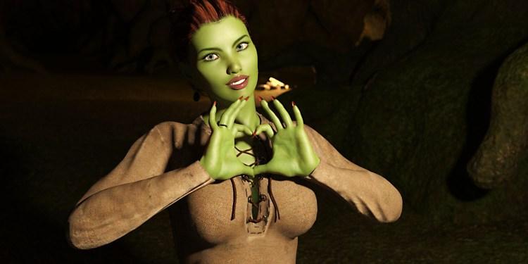 Картинка из порно игры сексуальная ведьма